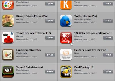 Apple iPad App Store Video revealed