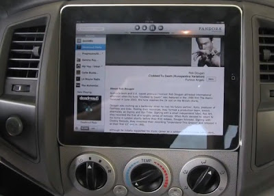 iPad docks into car console gains appeal horsepower