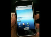 Hack iPhone running Google Android OS