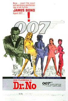 Dr. No James Bond Movies and Actors