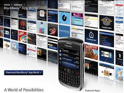BlackBerry App Store picture