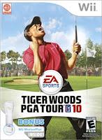 Nintendo Wii Tiger Woods PGA TOUR 10