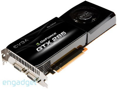 NVIDIA's GeForce GTX 285 to flares Mac users by June