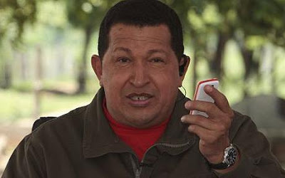 Venezuelan president Hugo Chavez launched the cheapest mobile phone condemned name