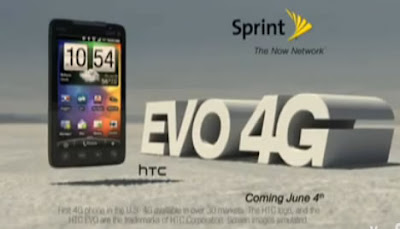 Sprint EVO 4G Firsts commercial, the last one standing [Video]