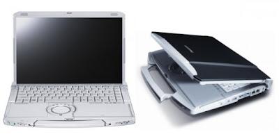 Panasonic Toughbook F9 lightest 14-inch rugged notebook