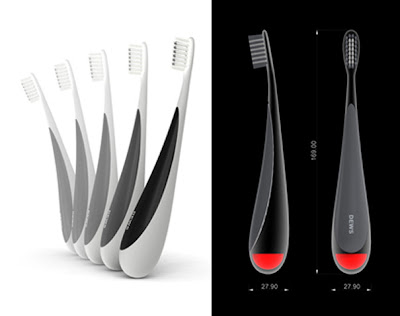 DEWS Toothbrush Concept: Self-Standing Toothbrush