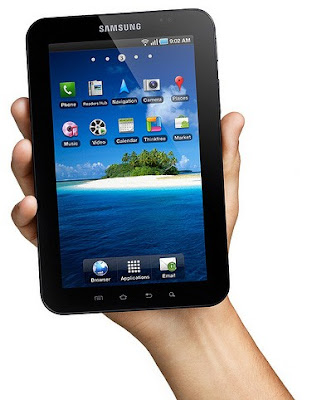 Samsung Galaxy Tab first look