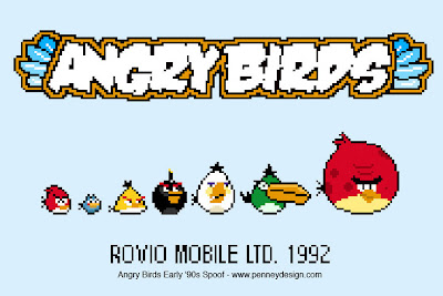 Angry Birds Early '90s Spoof