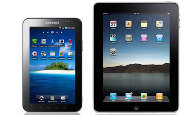 ipad vs. galaxy tab