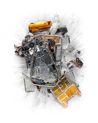 Apple products destroyed for the