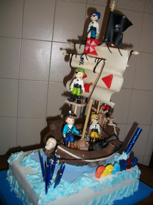 infantil, Barco pirata