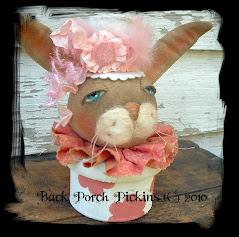 ~Shabby Pink Bunny~
