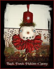 ~Snowman Ornament~