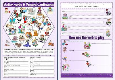 free printable worksheets action verbs printable worksheet. free ...