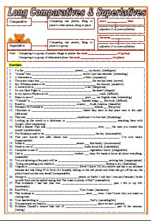 This worksheet contains tons of exercises for students to practice