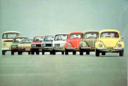 Volkswagen sua linha no Brasil