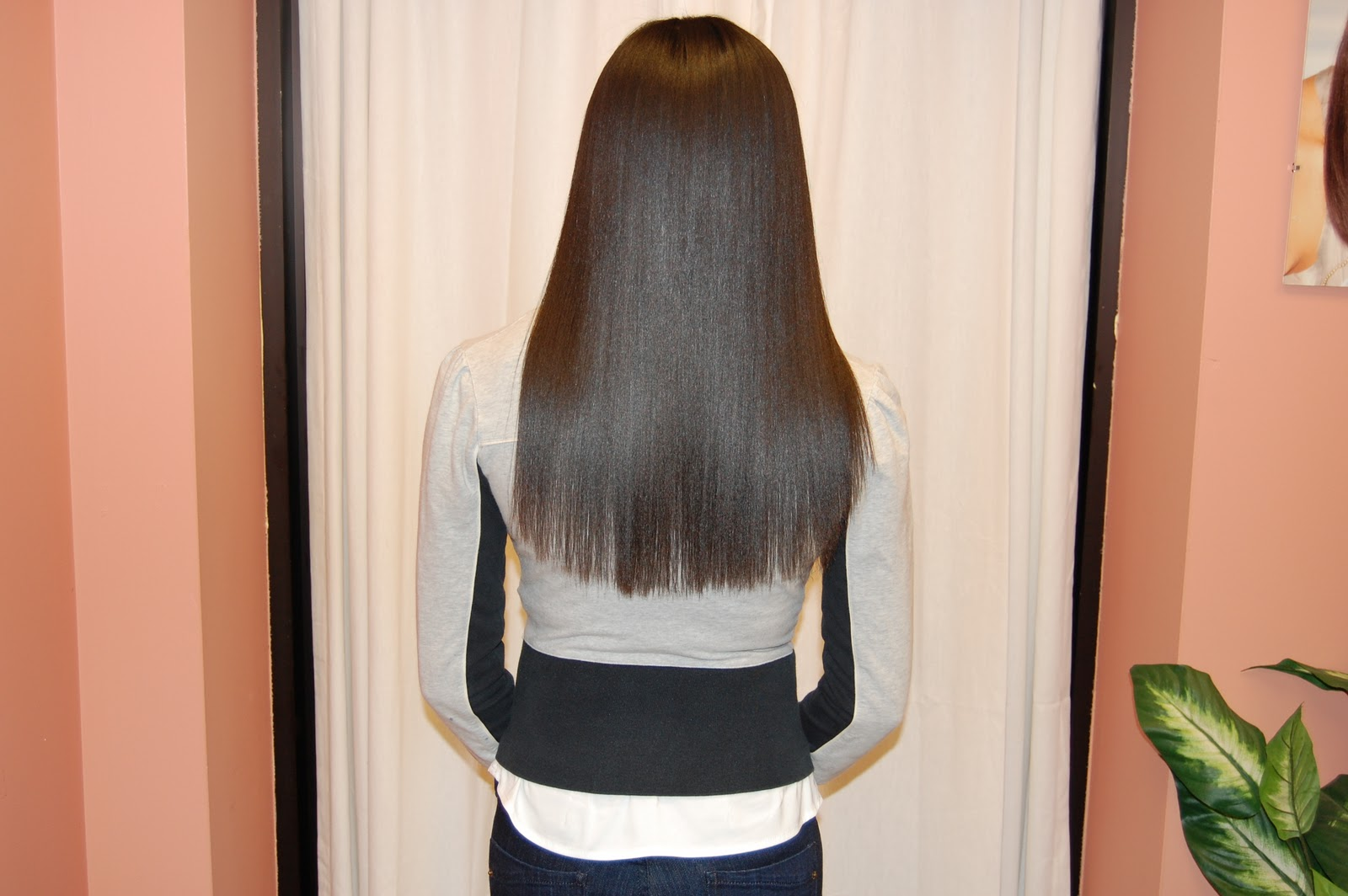 Long Straight Hair Back View Cool Hairstyles