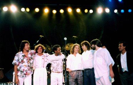 Minas em concerto - 1988  / Eu estava lá ....