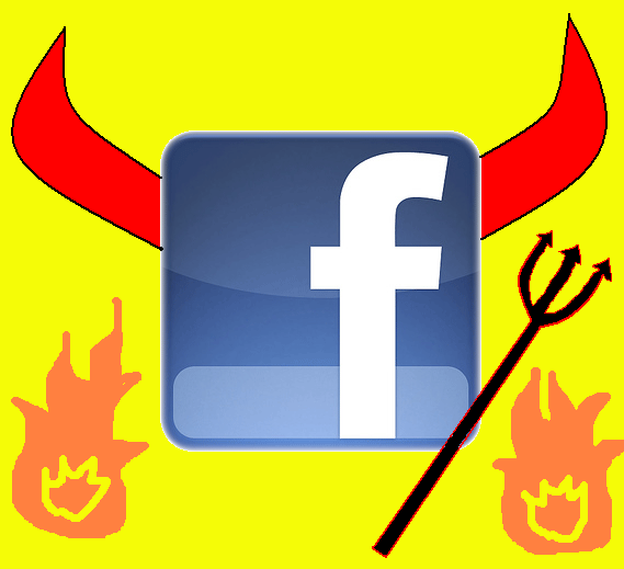 coffee remark person facebook facebook sort evil draws knowkinda satan