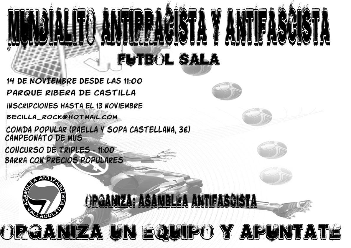 Mundialito Antirracista Y Antifascista Valladolid Mundialitoanti
