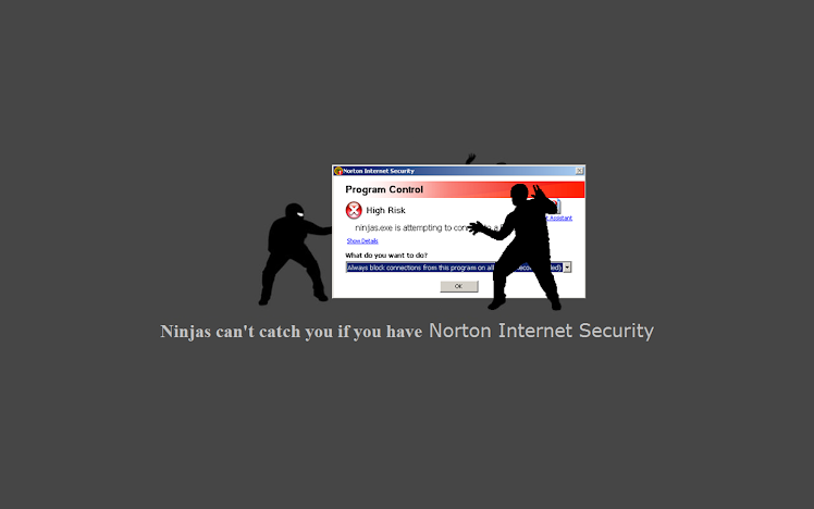Ninjas Cant Catch you If...