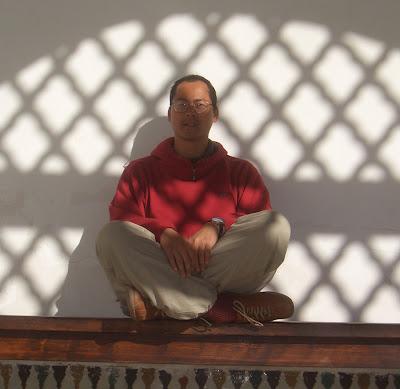 Nam LaMore in Morocco, 2007
