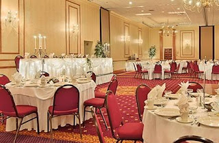 The Millennium Hotel's Presidental Ballroom, a great venue for Buffalo, NY weddings.