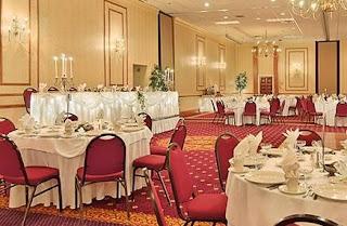 The Millennium Hotel's Presidental Ballroom, a great venue for Buffalo, NY weddings.