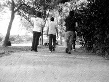 we walk to the future