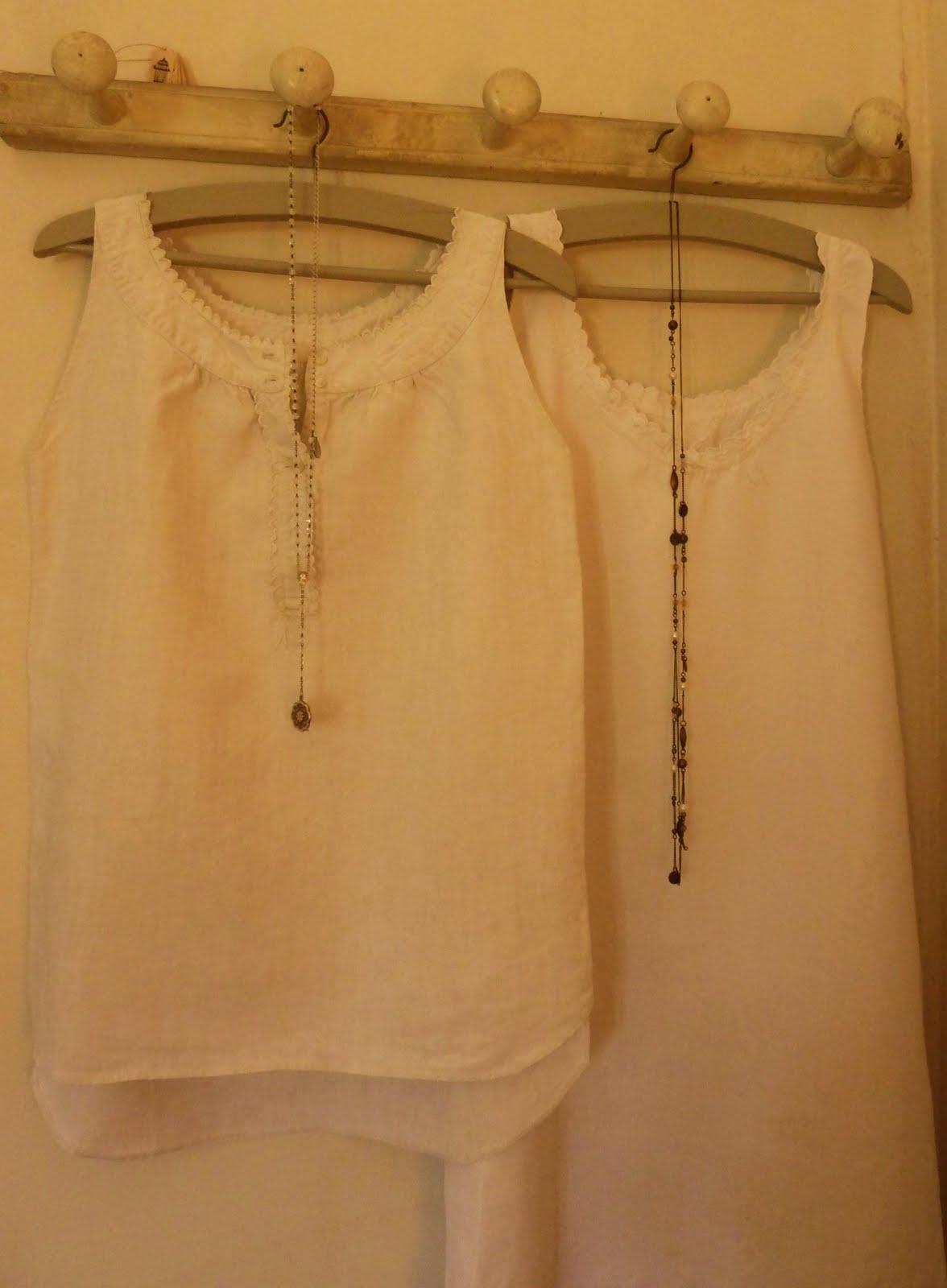 récup chemises anciennes