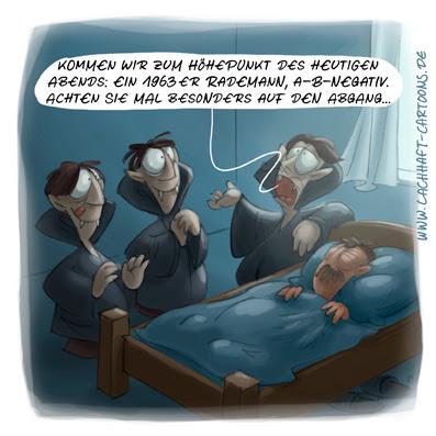 LACHHAFT Cartoon Vampire Blut Weinprobe Weinverkostung Jahrgang 1963 Blutgruppe Führung Abgang Höhepunkt Cartoons Witze witzig witzige lustige Bildwitze Bilderwitze Comic Zeichnungen lustig Karikatur Karikaturen Illustrationen Michael Mantel Spaß schwarzer Humor