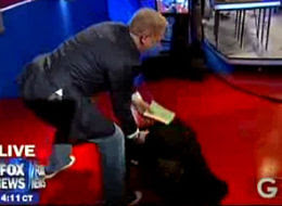 David Buckner faints on Glenn Beck's show