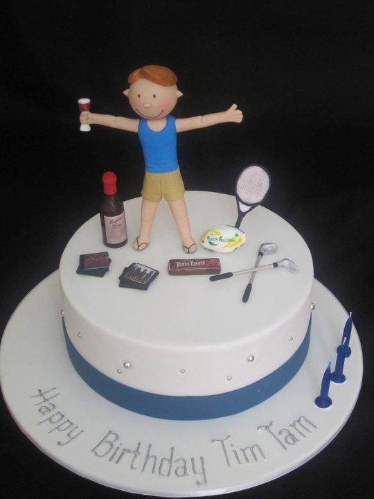 Handis Cakes Figurine Birthday Cakes