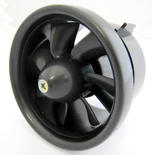 electric ducted fan image