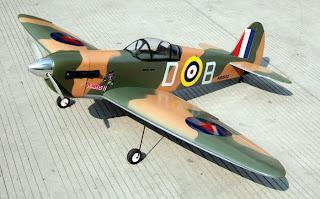 rc warbird-spitfire