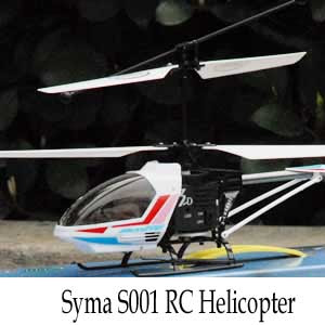Syma S001 3CH RC Helicopter Review