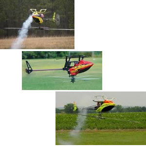 Inverted RC Helicopter Flying Images