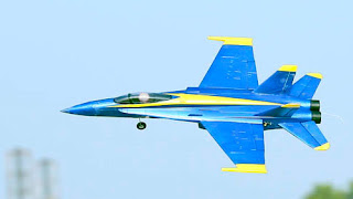 Blue Angel Electric Ducted Fan rc jet flying images
