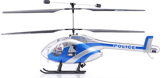 EXEED RC WARHAWK 300 POLICE BLUE RC HELICOPTER IMAGES