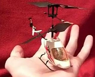mini rc helicopter on hands images