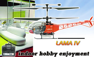 Lama IV 4CH Remote Control Helicopter