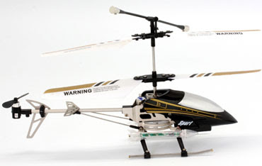 Alloy 3CH RC Helicopter With Gyro