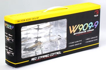Alloy 3CH RC Helicopter With Gyro Box