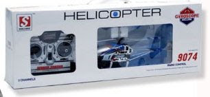 DH 9074 Metal Gyro RC Helicopter