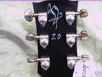 Les Paul Jimmy Page Signed