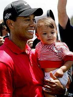 tiger woods family photos