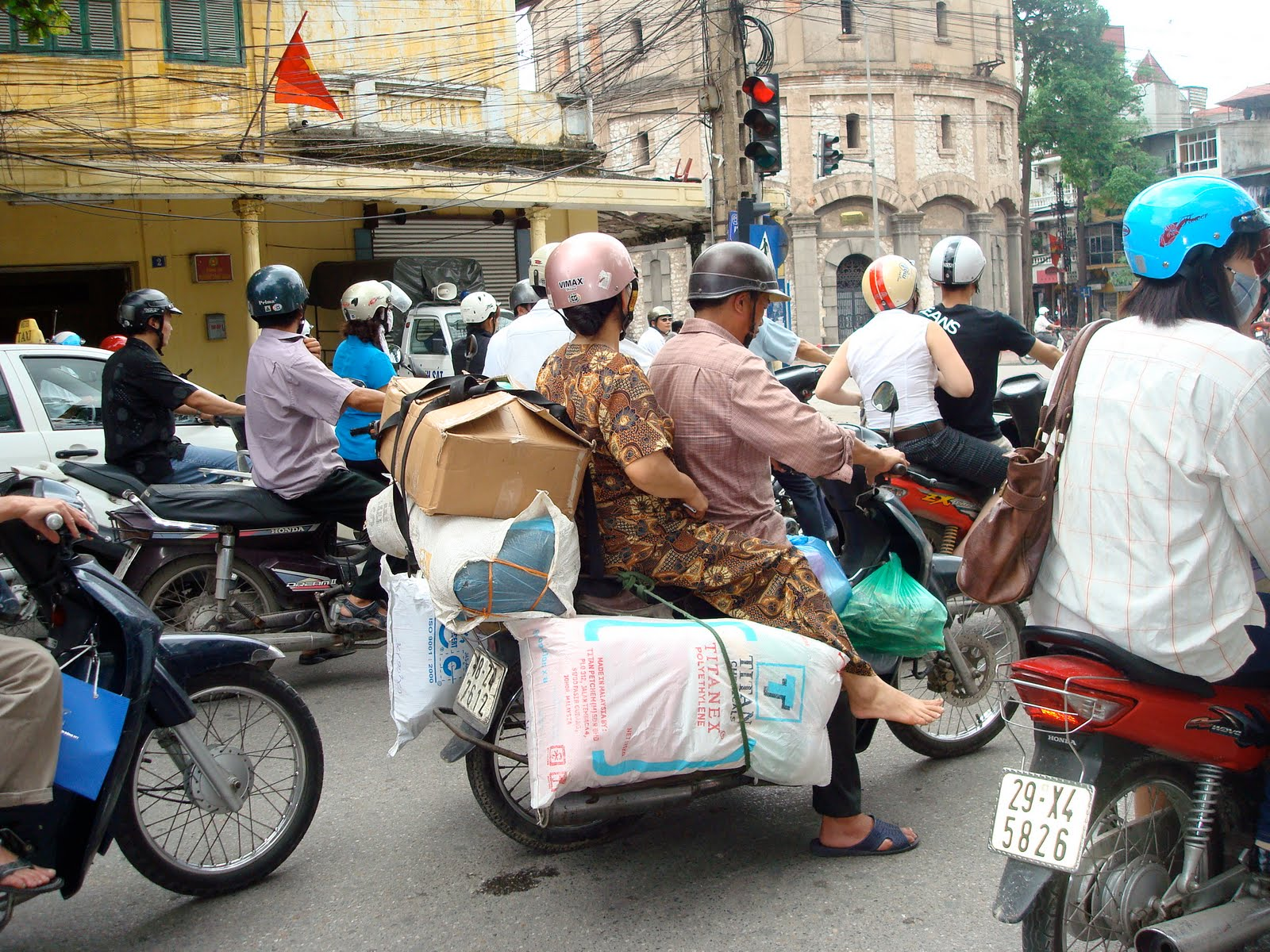 Linking Air Quality Climate Change And Transport Is Motorcycle A