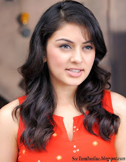 Velayutham Fame Hansika Close up Stills