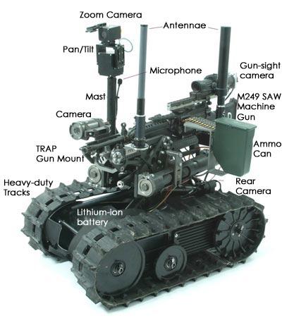 CONTOH ROBOT MILITER